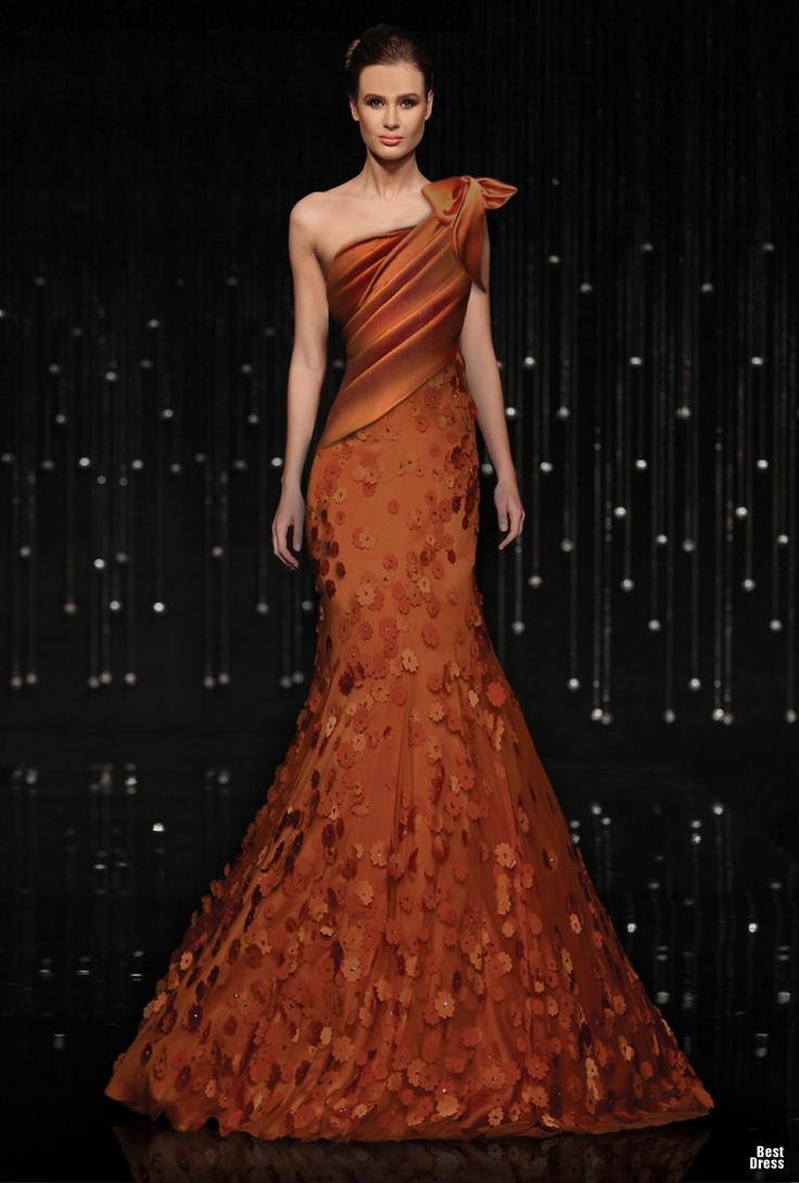 142 best ball gowns images on pinterest beads bride to be and what i really like is the different kind of color of this gown like a rustburnt orangepumpkin jean fares breeze me couture ombrellifo Choice Image