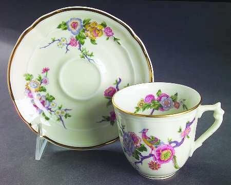 Bernardaud BENGALI Tea Cup & Saucer 6514600