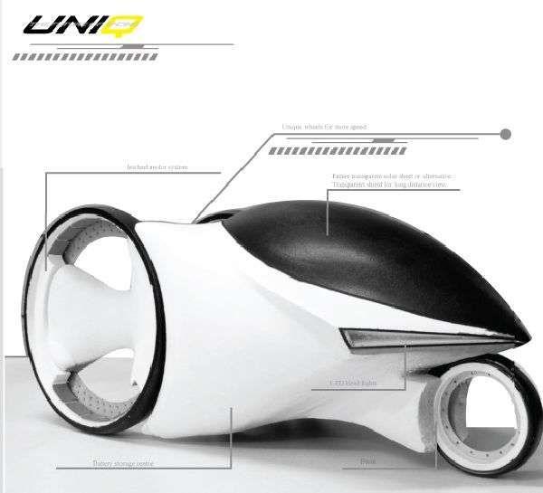 Eco Urban Pod Trikes - The Uniq Electric Trike Carves Through Traffic of 2040 (GALLERY)