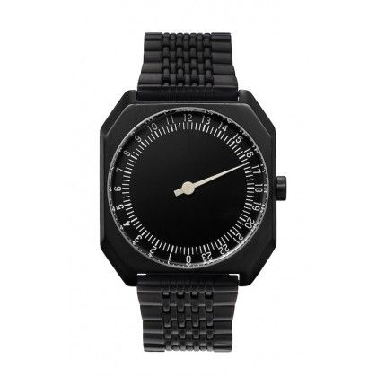 The best Swiss All Black Swiss watch you can find on the market. A super modern design piece with durable PVD coating. What a great men's watch.