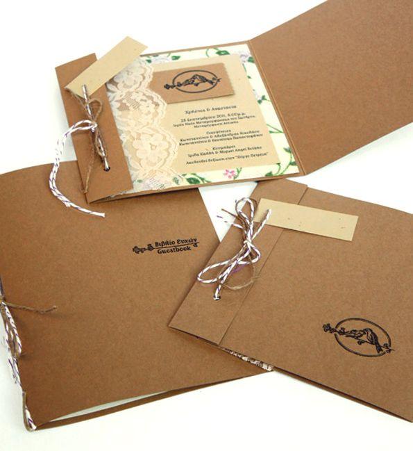 Invitation / Wedding memory kit by FIIL , via Behance