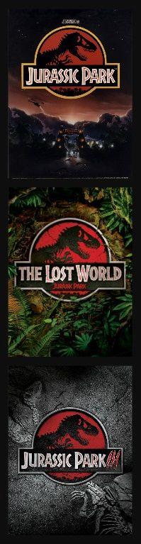 Jurassic Park (1993) The Lost World Jurassic Park (1997) Jurassic Park III (2001)