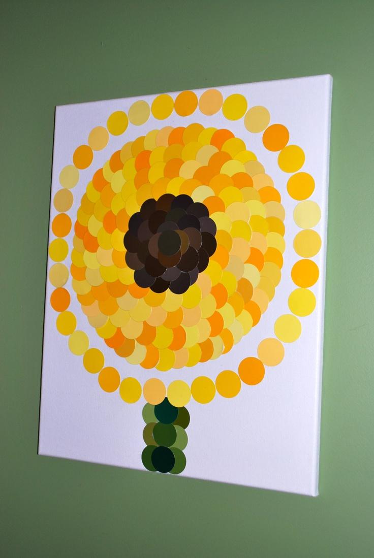 476 best ART...Paint Chip Art images on Pinterest   Paint chips ...