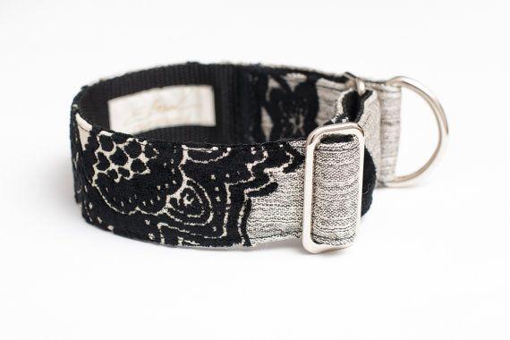 Decorative martingale collar by zaCHARTowani on Etsy