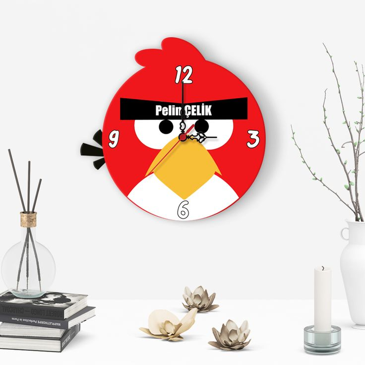 Custom Decorative Children Wall Clock – (A-57)