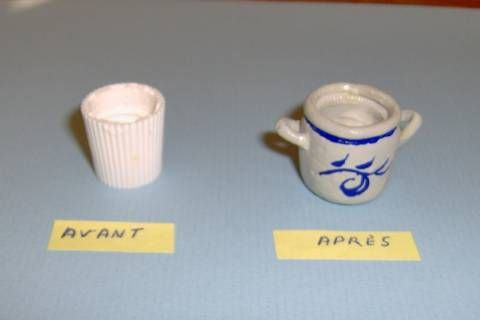 before after crock from toothpaste lid - steps well-illustrated