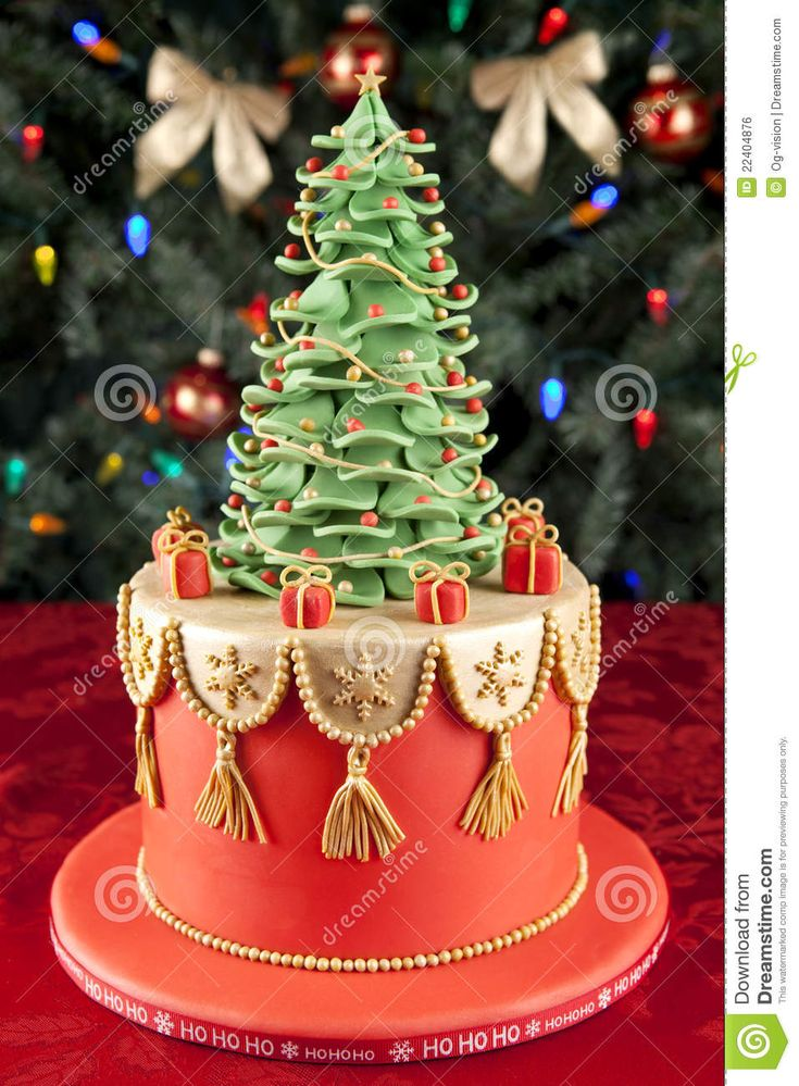 Christmas Cake - Download From Over 39 Million High Quality Stock Photos, Images, Vectors. Sign up for FREE today. Image: 22404876