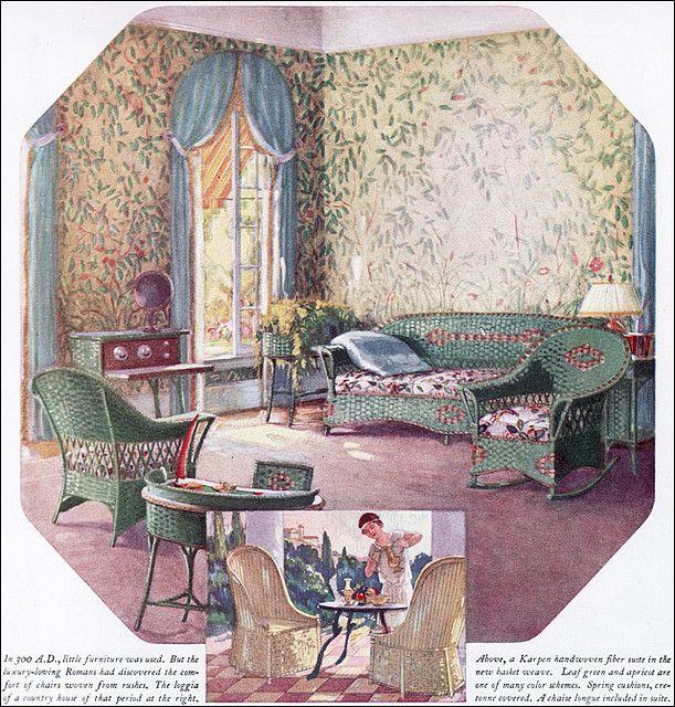 298 best images about vintage living dining on pinterest for 1925 kitchen designs
