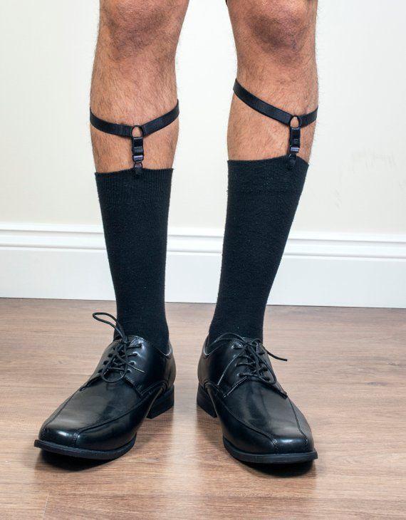 Open-Minded 1 Pair Elastic Solid Nisex Shirt Fixed Braces Band Suspenders Adjustable Garter Socks Non-slip Garter Clip Leg Ring Clip Men's Accessories