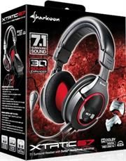 Sharkoon X-Tatic S7-7.1 Surround headset with Dolby® Headphone technology, for multi-platform gaming (Xbox® 360, PS3™, PC etc.)-powered via USB, Retail Box , 1 Year warranty .http://www.satelectronics.co.za/