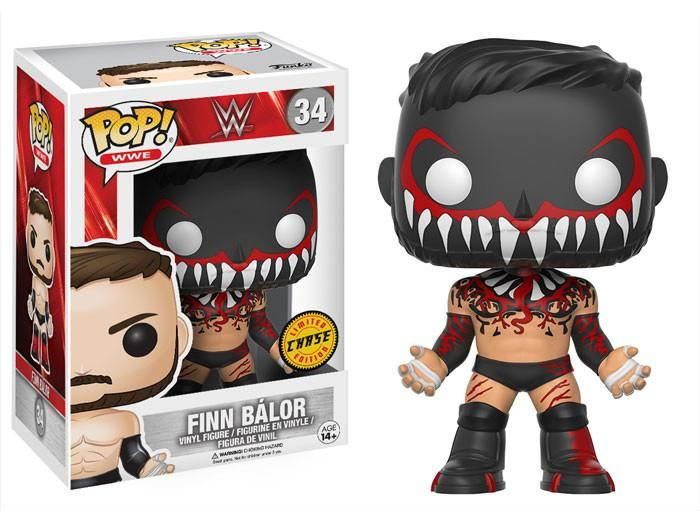 POP! WWE # 34: Finn Balor [MASKED] - Chase Limited Edition