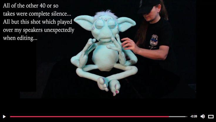 EVP Entity voice captured while puppeteering... have a listen https://vid.me/p8BK3