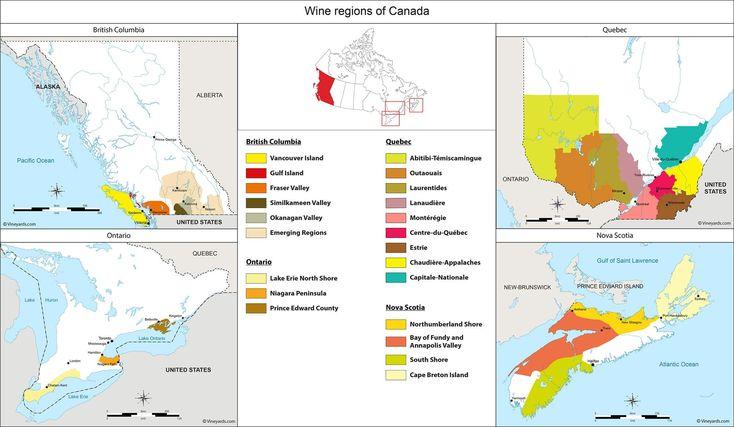 Wine Regions in Canada