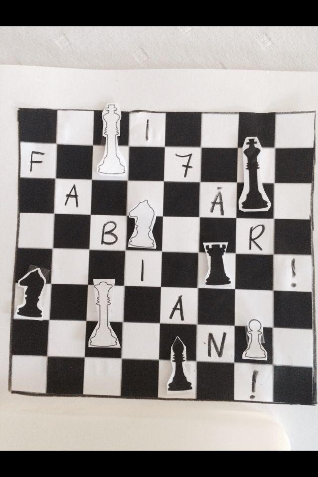 Chess card!