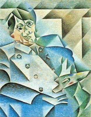 Homage to Pablo Picasso by Juan Gris. Order from DEKORAMI as a poster, canvas print, mural. Zamów jako obraz na płótnie, plakat lub fototapetę na DEKORAMI.pl.
