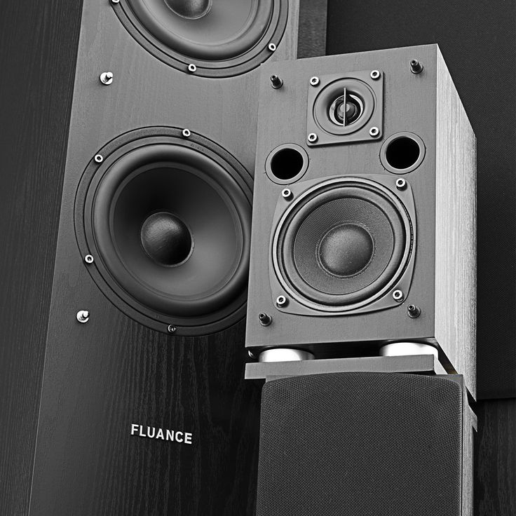 Image of Fluance SXHTB-BK 5 Speaker Surround Sound Home Theater System - Black