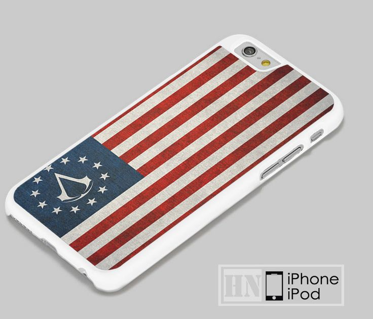 Assassin's Creed Colonial Flag iPhone iPod Cases, Samsung Cases, HTC one Cases, LG Cases