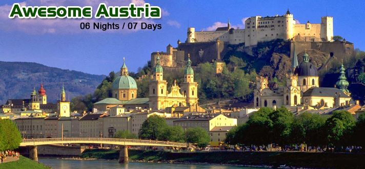 #EuropeGroupTours Offers Book Best #LuxuryAustria #Holiday #TourPackages 2015 from #Delhi