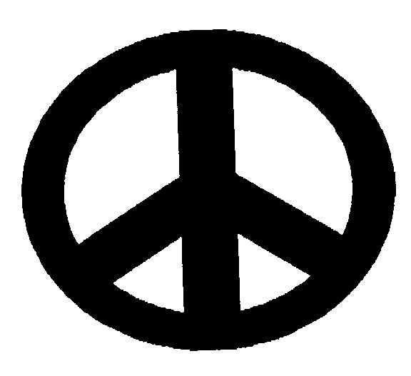"""For what some people call the ,"""" peace sign """"  has been used for over a thousand years before the 1940's"""