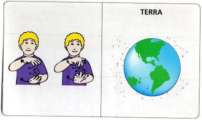Idéias Para ensinar Surdos: Planetas em Língua brasileira de sinais