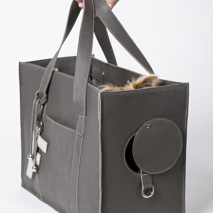 lola bag leather dog carrier: Bitch New York - Designer Dog Carriers, Designer Dog Clothing