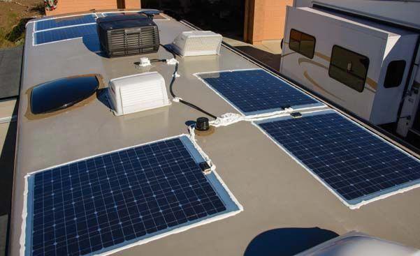 Rv Marine Battery Charging Solar Shore Power Combined Best Solar Panels Solar Panels Solar