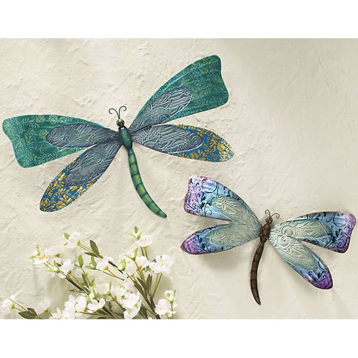 25 unique dragonfly decor ideas on pinterest dragonfly for Dragonfly mural