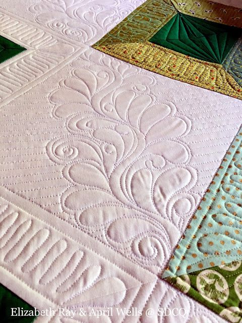 Sew Darn Cute Quilting: All About the Greenery Through the Trees