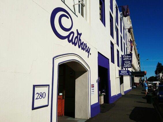 Cadbury Chocolate Factory in Dunedin, Otago