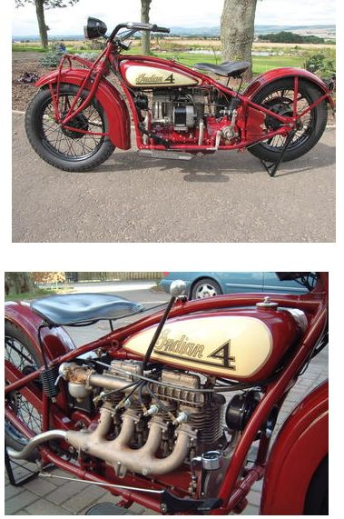 1928 Indian 1260cc Model 401 Four Estimated starting price of £65,000 - 70,000 US$ 97,000 - 100,000