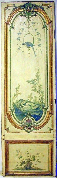(via g r e e n / Manner of Jean-Baptiste Oudry, Door Panel)