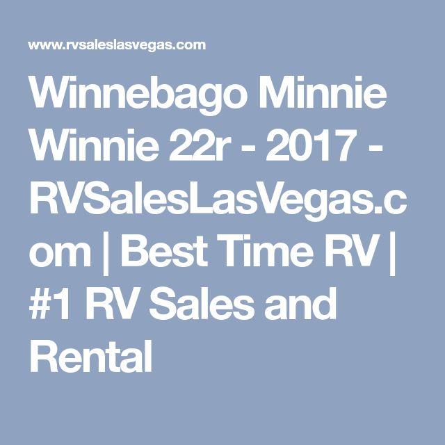 2001 Winnebago Minnie Winnie 22r