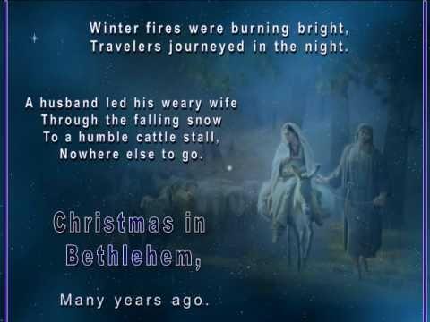 ▶ Christmas in Bethlehem - Tommy's Window Slideshow - YouTube