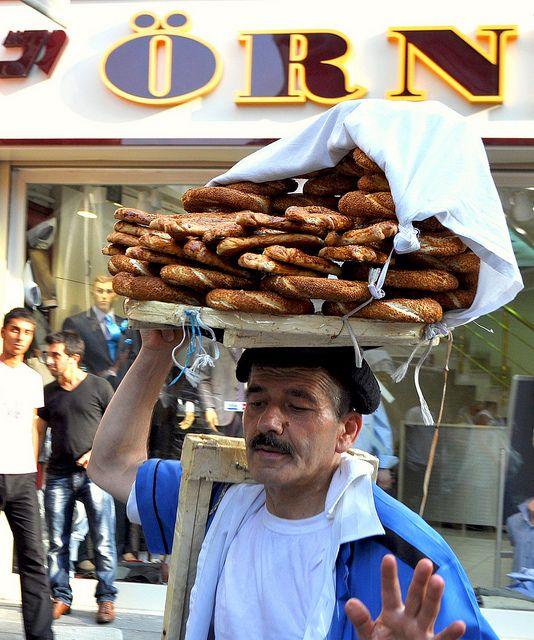 Istanbul (there's the same in Greece : koulourakia !)