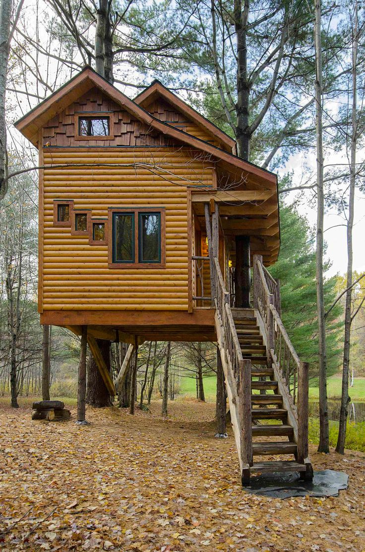 1000 images about tree houses get up and away on pinterest for Treeless treehouse