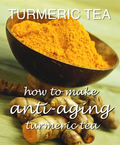 Anti-Aging Turmeric Tea Recipe