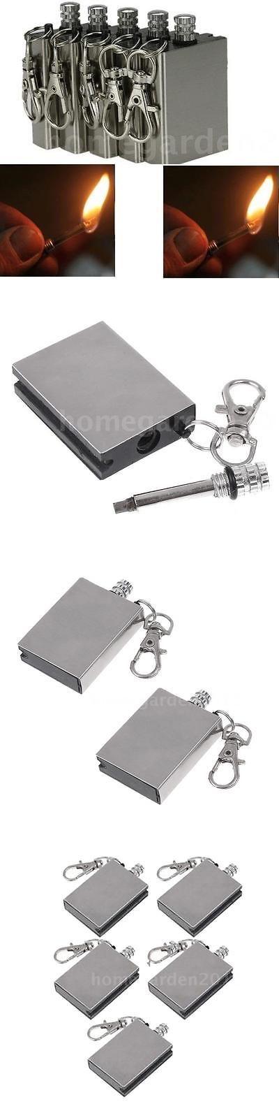 Fire Starters 166126: 100 Pcs Survival Fire Starter Flint Match Metal Lighter Outdoor Camping Kit I7z1 -> BUY IT NOW ONLY: $62.45 on eBay!