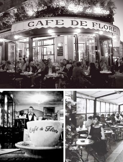 Since almost 130 years, Café de Flore is an iconic place of Paris, where writters, artists, intellectuals meet each others. From today to December 2nd, let's discover a photo exhibiton in black and white that bring us back to the 60's : Picasso, Lynch,  Sartre, Gainsbourg and so more…