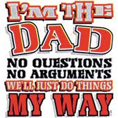 I'M THE DAD T-SHIRT