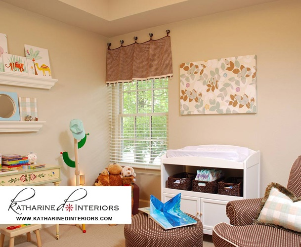 Custom window treatments kids room house things for Kids room window treatment