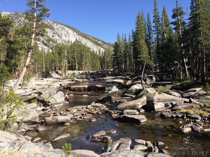 Bear Creek on the John Muir Trail