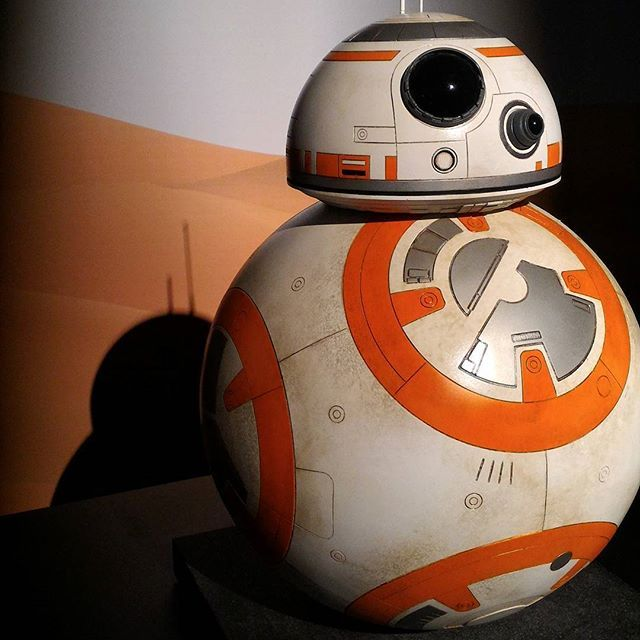 BB-8 #starwars #movie #cinema #nofilter #smartphone #shoot #bb8