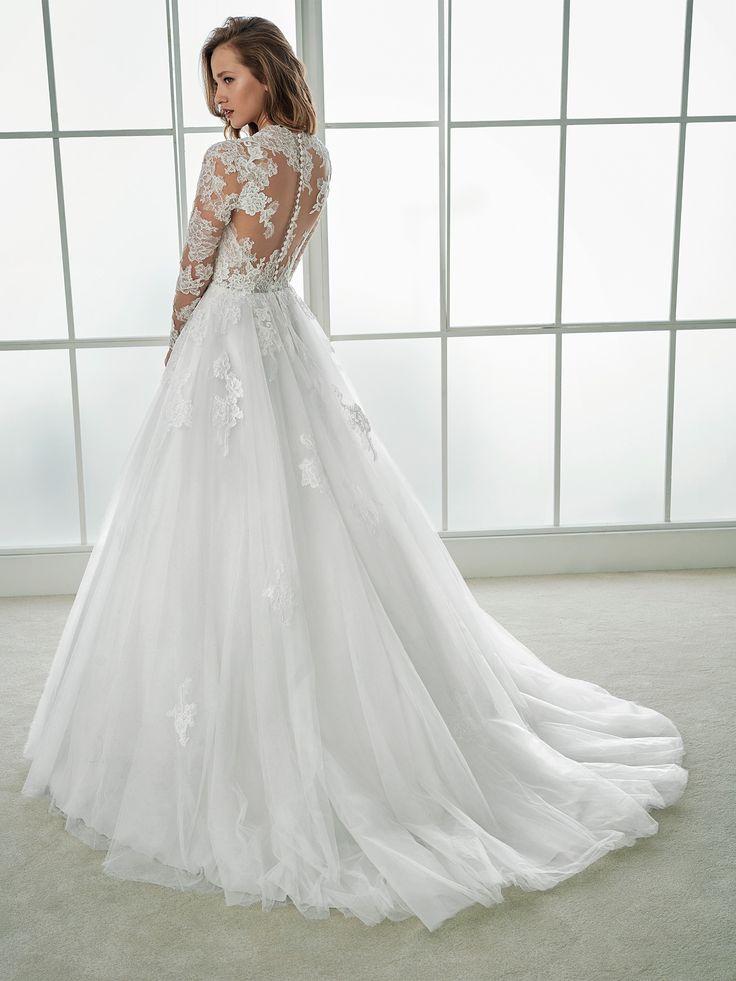 23 besten Brautkleider Bilder auf Pinterest   Hochzeitskleider ...