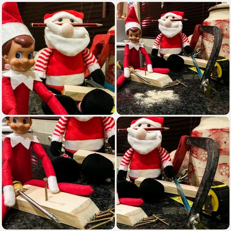 """Day 9: For the kids; Santa's Workshop. """"Chop your own wood ..."""