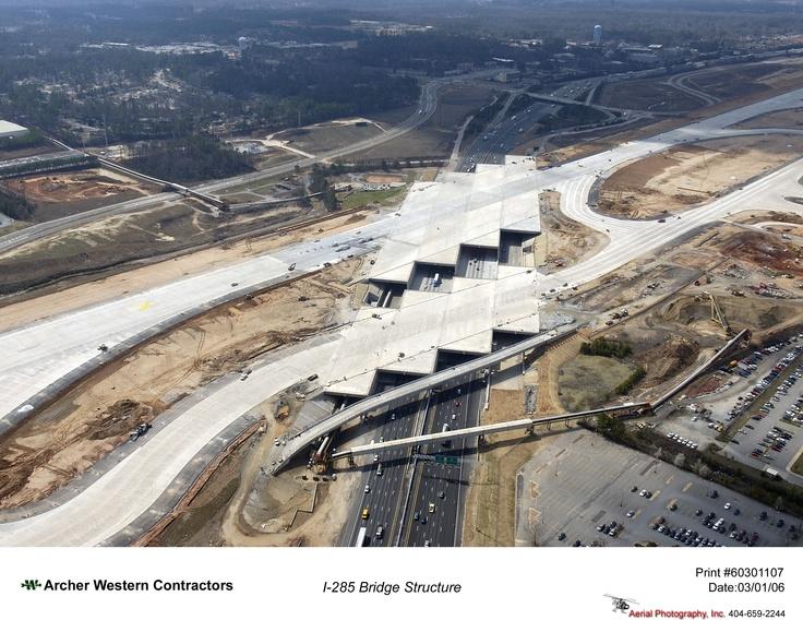Yep...they really built a runway   OVER I-285!