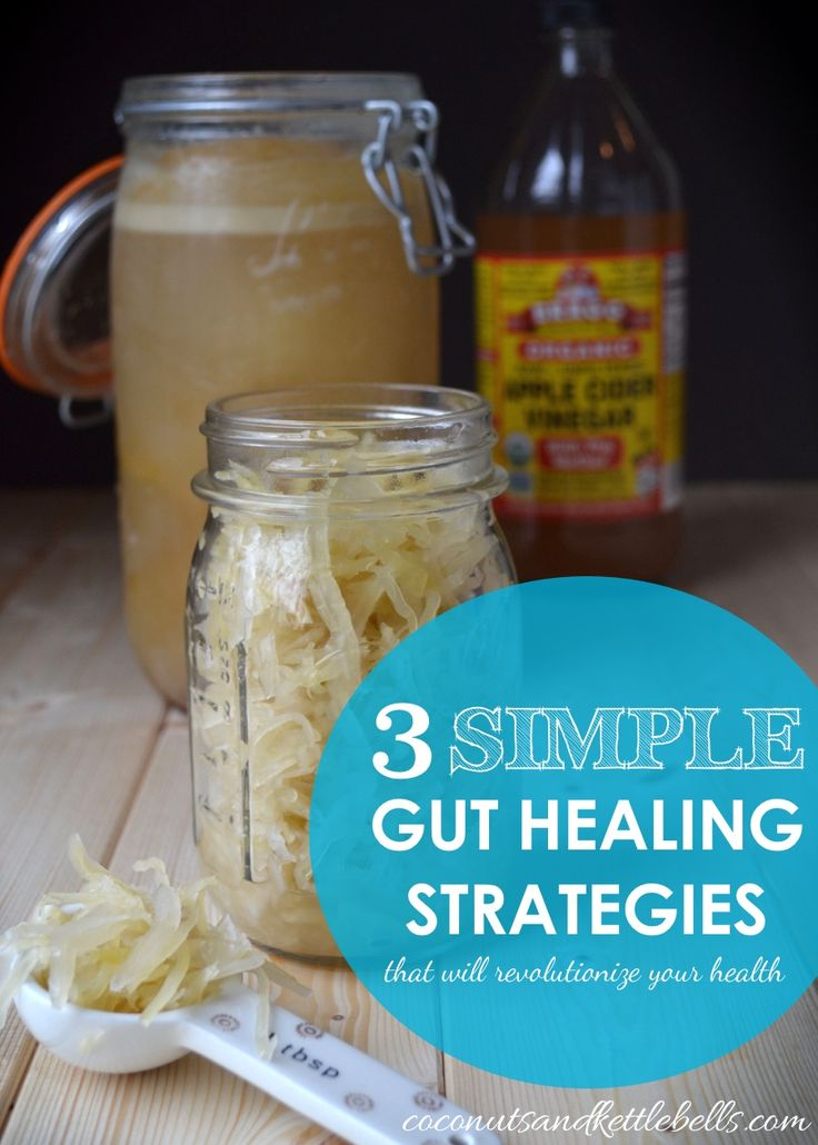 3 Simple Gut Healing Strategies That Will Revolutionize Your Health - Coconuts & Kettlebells #gut #health