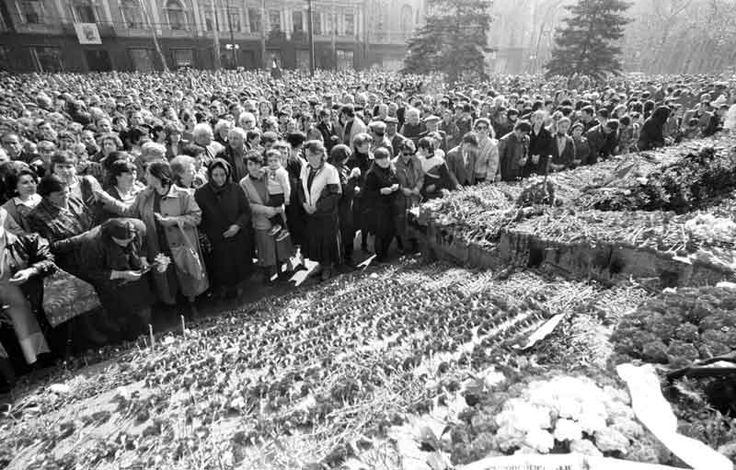 10 april, afther tragedy. tbilisi, 1989