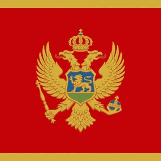 Montenegro Flag Stickers