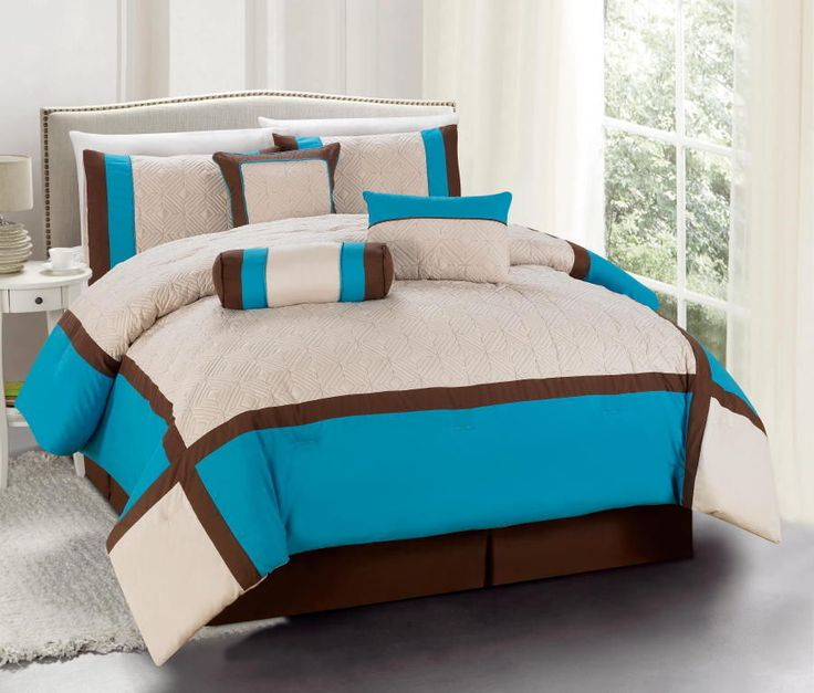 61 Best Images About Turquoise And Brown Bedding On Pinterest Turquoise Highlights Brown