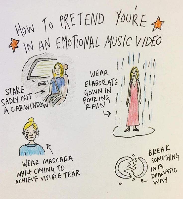 "Haley (@haleydrewthis) on Instagram: ""Cue the music . . . . . . #cartoon #instaart #pen #comic #illustrations #illustrator #doodling…"""